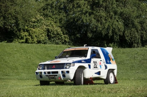 @1989 Mitsubishi Pajero L040 Paris-Dakar - 1