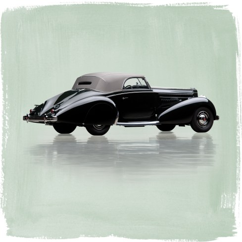 @1938 Packard Eight Cabriolet by Graber - 1