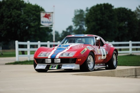 @1968 Chevrolet Corvette L88 RED-NART Le Mans - 7