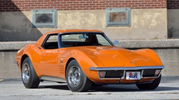 @1971 CHEVROLET CORVETTE ZR2 CONVERTIBLE - 12
