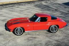 @1963 Chevrolet Corvette Sting Ray Z06 'Big Tank' Split-Window Coupe - 5