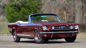 @1965 FORD MUSTANG CONVERTIBLE-289 - 12