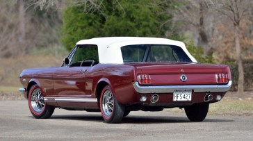 @1965 FORD MUSTANG CONVERTIBLE-289 - 13