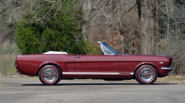 @1965 FORD MUSTANG CONVERTIBLE-289 - 2