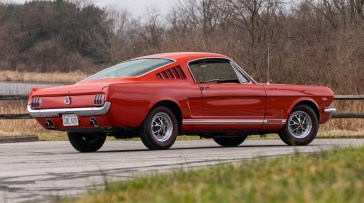 @1965 FORD MUSTANG GT FASTBACK-289 - 13