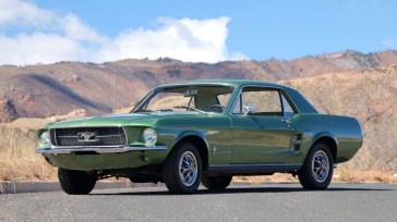 @67 Mustang Coupe 289 - 1