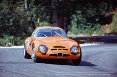 Chassis 0039 at the 1970 Coppa Bruno Carotti Rieti-Terminillo Hillclimb on 9th August.