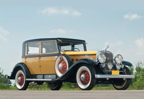 @1930 Cadillac Sixteen Madame X Club Sedan Fleetwood-72705 - 1