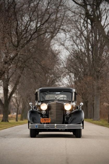 @1933 Cadillac V-16 Seven-Passenger Sedan - 1