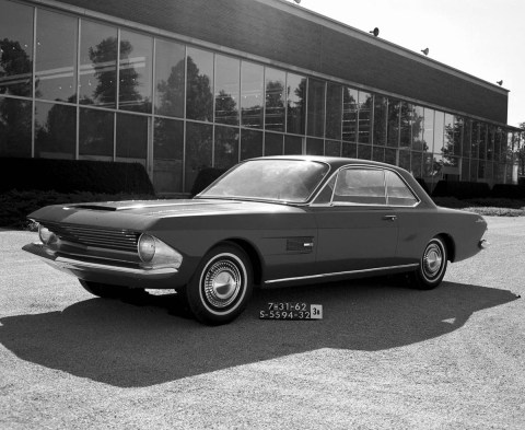 Ford Mustangs That Never Were: 1962 Allegro design study