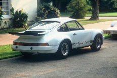 The RS 3.0 when it was brought home by its original owner Sydney Butler, Memphis, Tennessee, 1974.