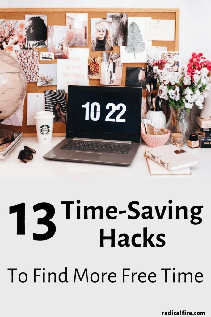 time-saving hacks to find more free time