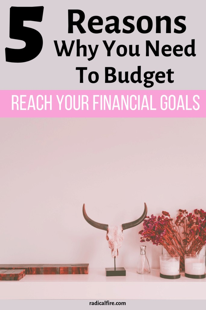 reasons why you need to budget