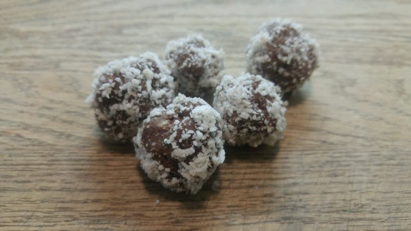 fermented chocolate truffles