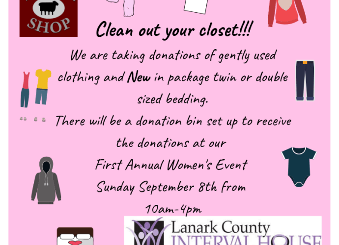 Clean out your closet Woolshop