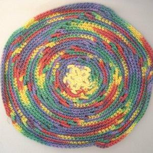 Round Rainbow Cloth
