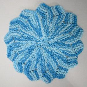 Blue Flower Cotton Cloth