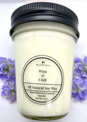 Wine and Chill Soy Candle 8oz