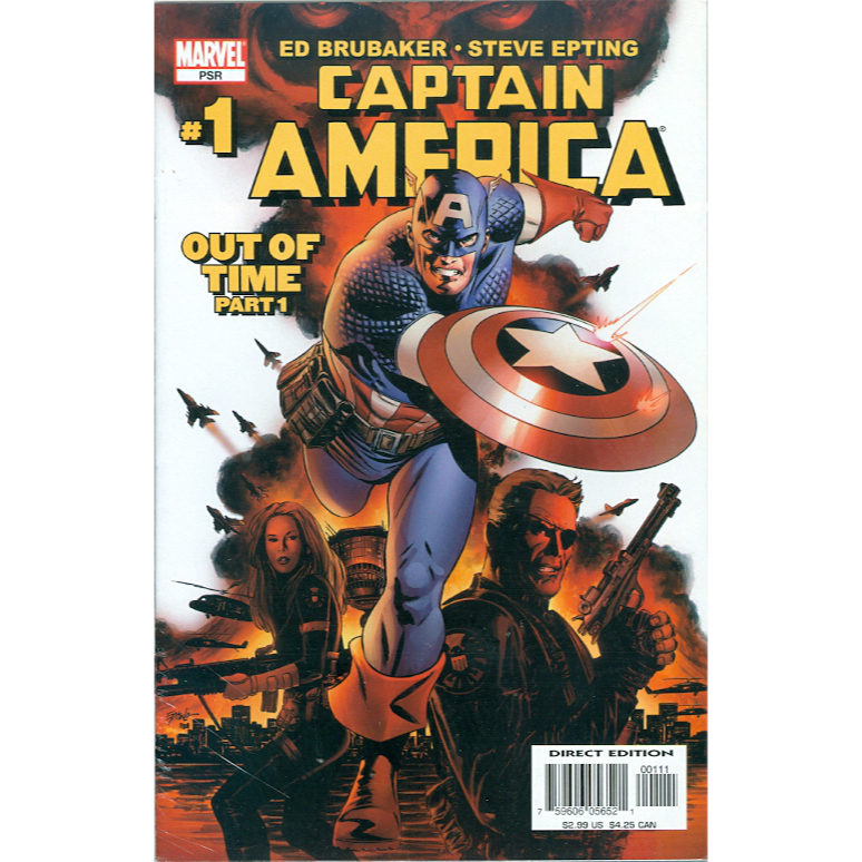 Captain America PSR Out of Time 1