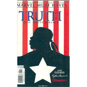 Marvel Must Haves Truth Red, White + Black