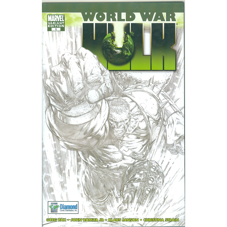 World War Hulk 1 Variant