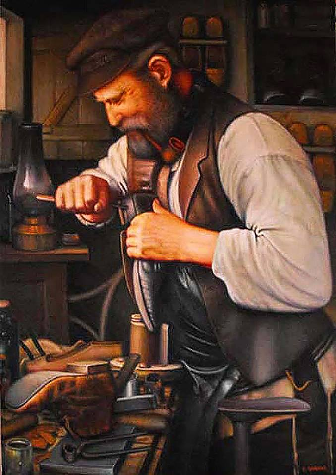 Old Warshaw, Jewish Shoemaker