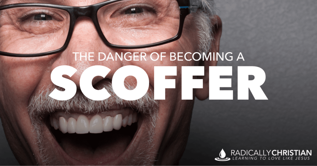 What is a scoffer in the Bible