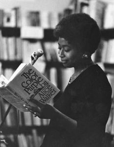 Alice Walker reading from The Color Purple.