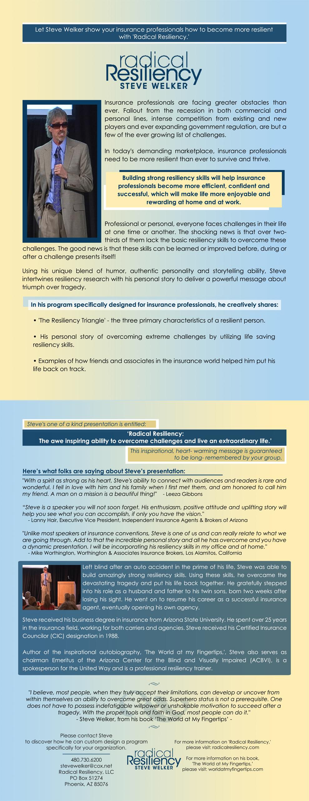 Resiliencyforinsurancecompanies