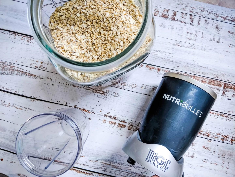 nutribullet for oat flour
