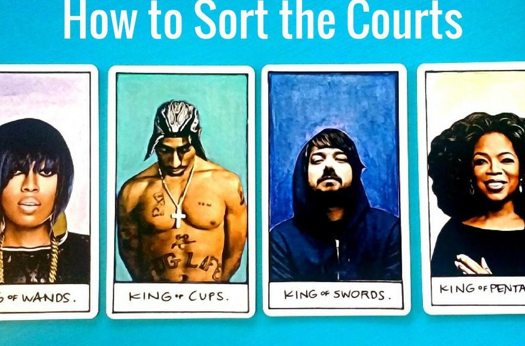 How to Sort Courts Series Links