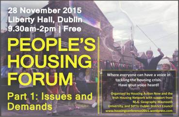 Peoples Housing Forum x3