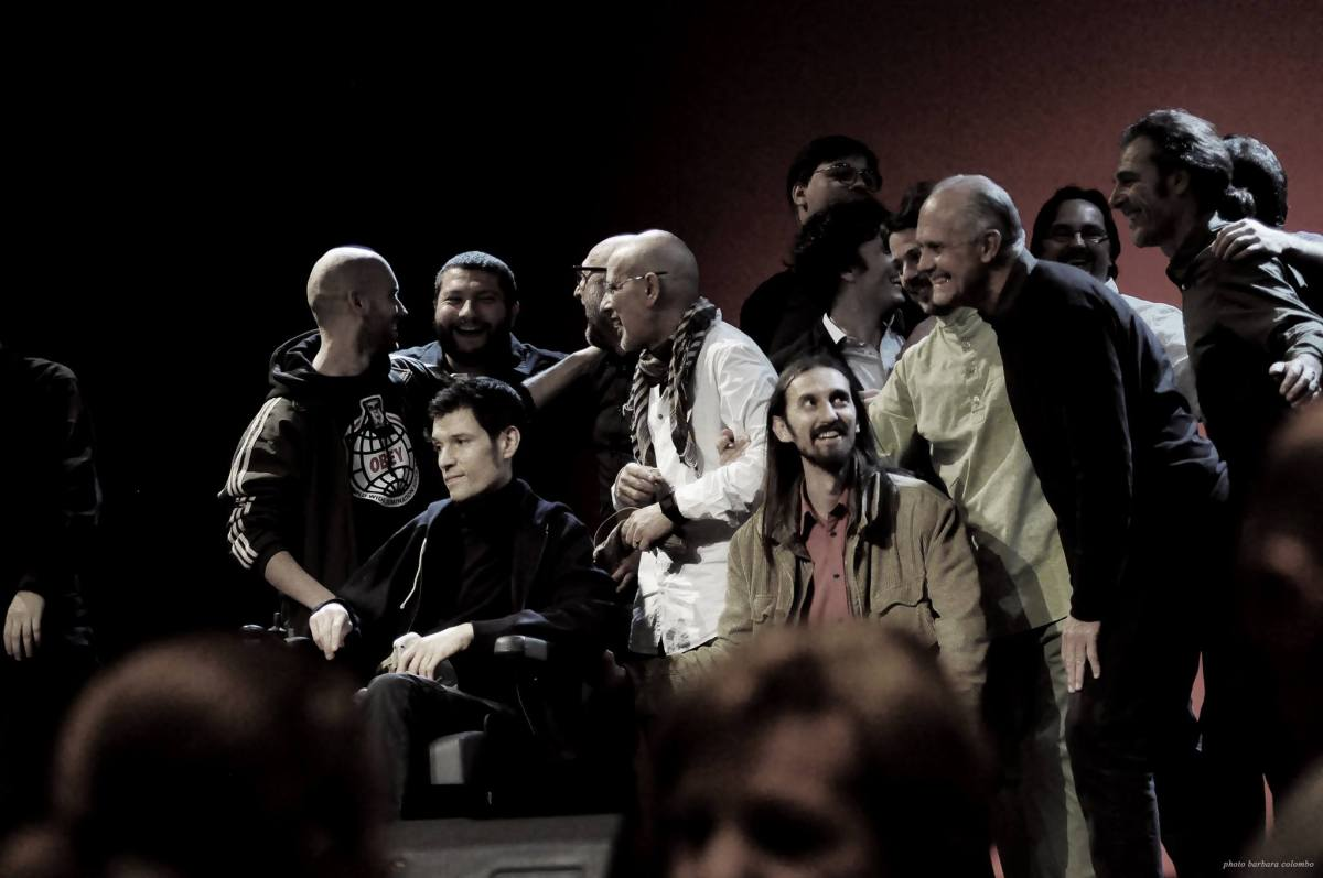 Finali LIPS 2014, Festival PoesiaPresente (a cura di Mille Gru), foto Barbara Colombo