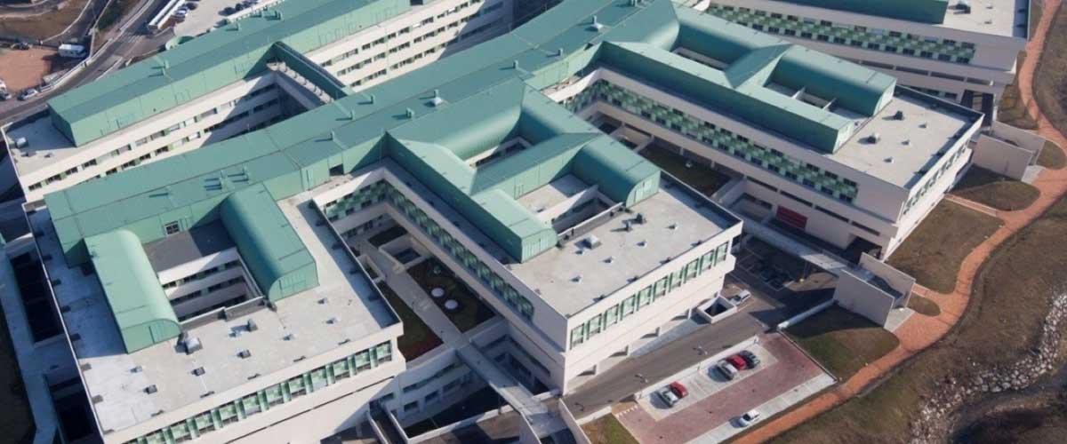 L'Ospedale Sant'Anna di Como ai nostri giorni.