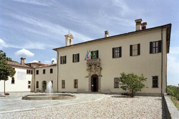 La villa Imbonati nel comune di Cavallasca