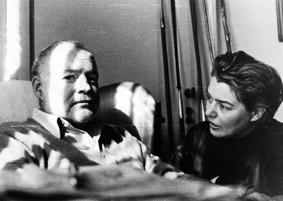 Fernanda Pivano insieme ad Ernest Hemingway