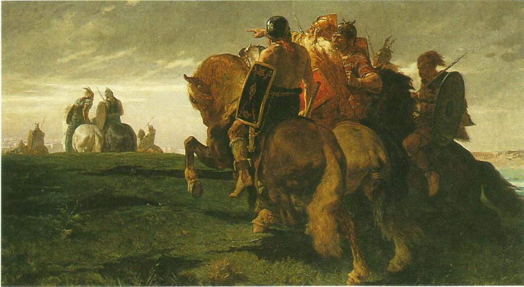 Evariste-Vital Luminais, L'invasion (1872)