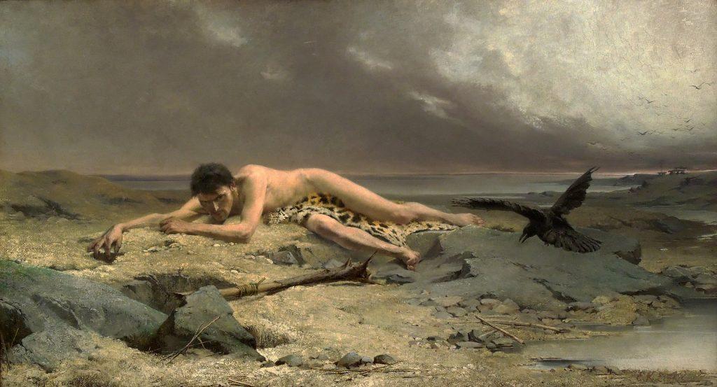 Caino secondo il pittore Emanuel Krescenc Liška (1852-1903)