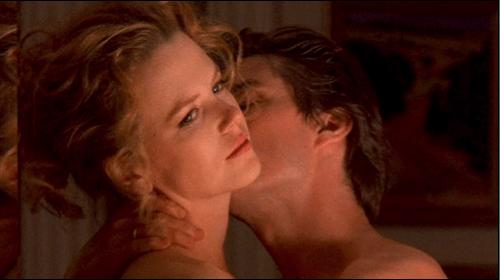 Nicole Kidman e Tom Cruise in una scena del film