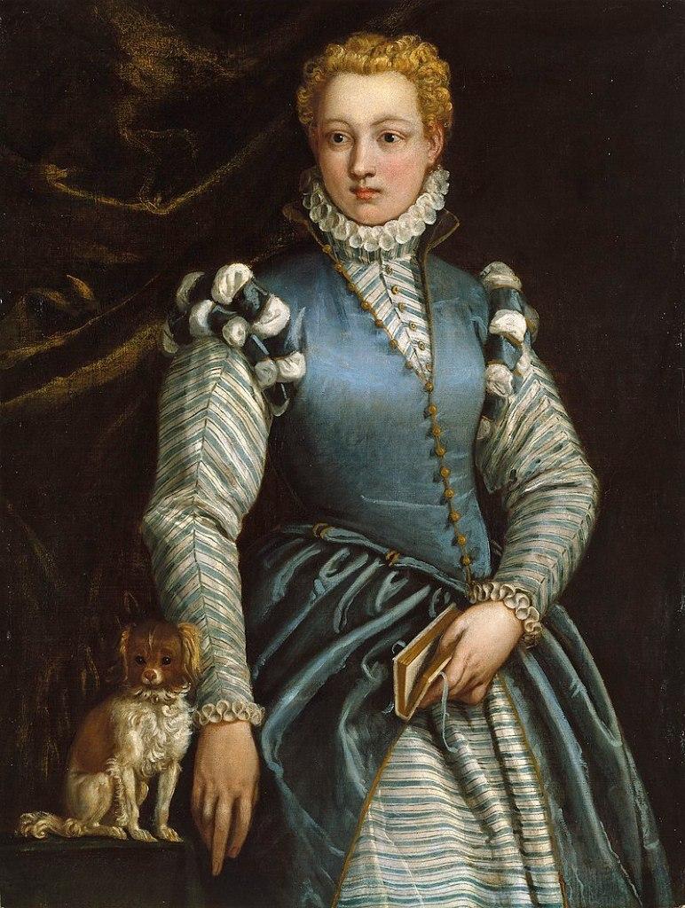Ritratto della scrittrice Isabella Andreini (1562-1604)