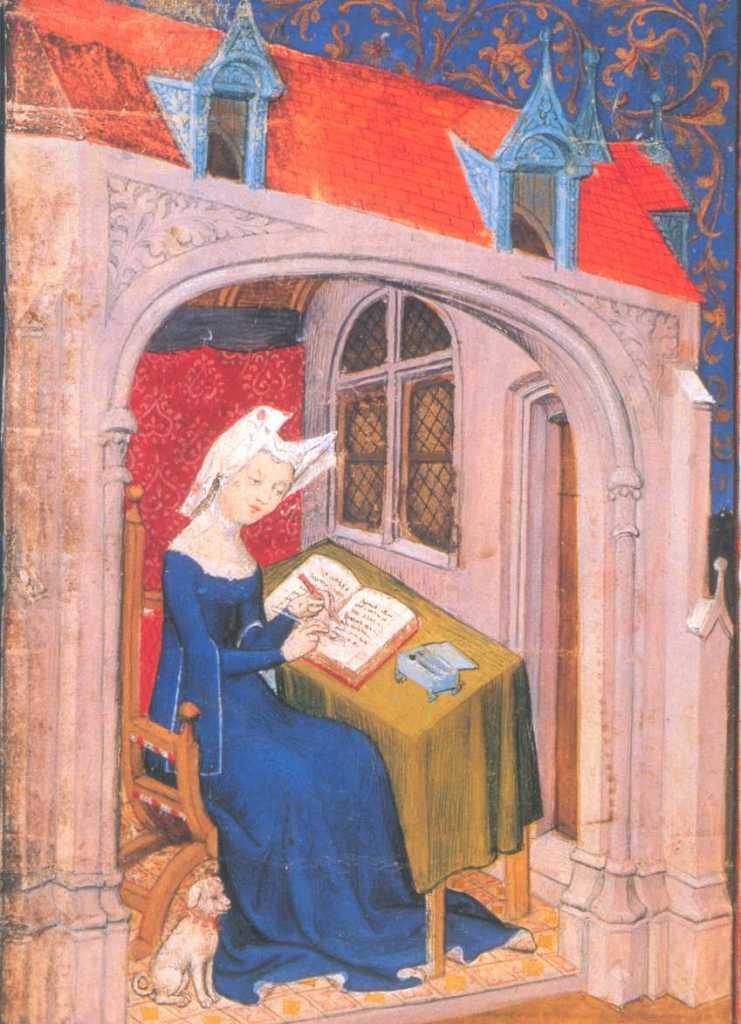 La poetessa Christine de Pizan