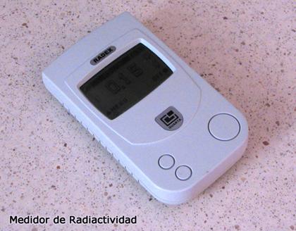 Medidor de radiactividad
