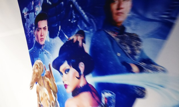 Photo of the Day: Kris Wu Selling Luc Besson Adventure Film Valerian and the City of a Thousand Planets
