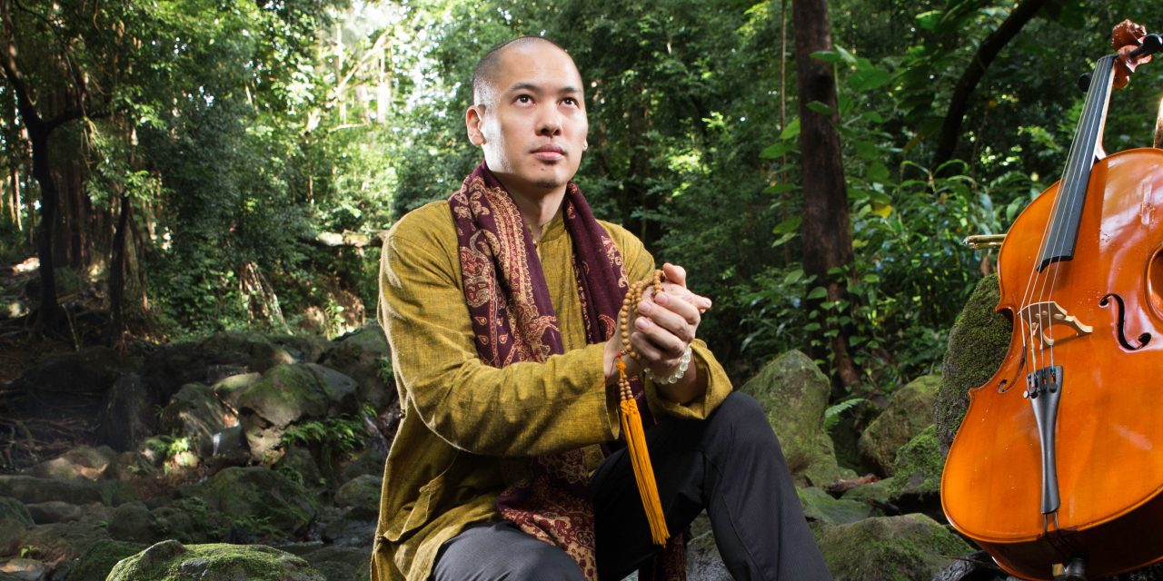 The World's Top Electric Cellist is on a Zen-like Mission of Healing