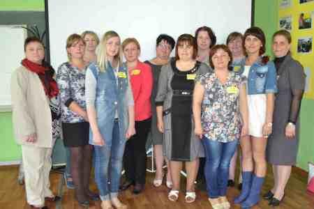 Семинар для воспитателей детских садов прошел в НКО «Радимичи – детям Чернобыля»