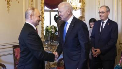 Declaraciones de Vladímir Putin y Joe Biden