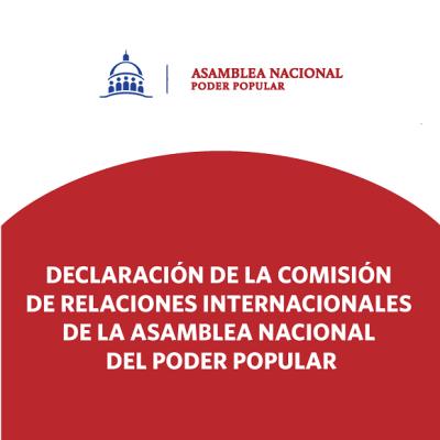 Asamblea Nacional rechaza resolución del Parlamento Europeo contra Cuba
