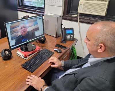 Desde Nueva York  con Ernesto  Soberón Director  General de Asuntos Consulares y Cubanos Residentes en el Exterior