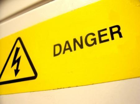 danger courant électrique