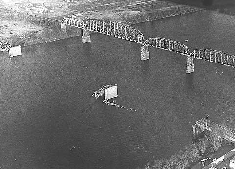 Point Pleasant pont écroulé